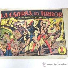 Tebeos: ANTIGUO TEBEO EL HOMBRE DE LA ESTRELLA Nº 6 - LA CAVERNA DEL TERROR - ED. BRUGUERA - TOTALMENTE ORIG. Lote 28503855