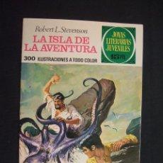 Tebeos: JOYAS LITERARIAS JUVENILES - Nº 39 - LA ISLA DE AVENTURA - 15 PESETAS - EDIT. BRUGUERA. Lote 28520850