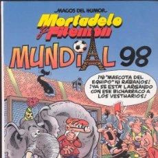 Tebeos: MORTADELO Y FILEMON - MUNDIAL 98 - MAGOS DEL HUMOR -CIRCULO DE LECTORES. Lote 121586082