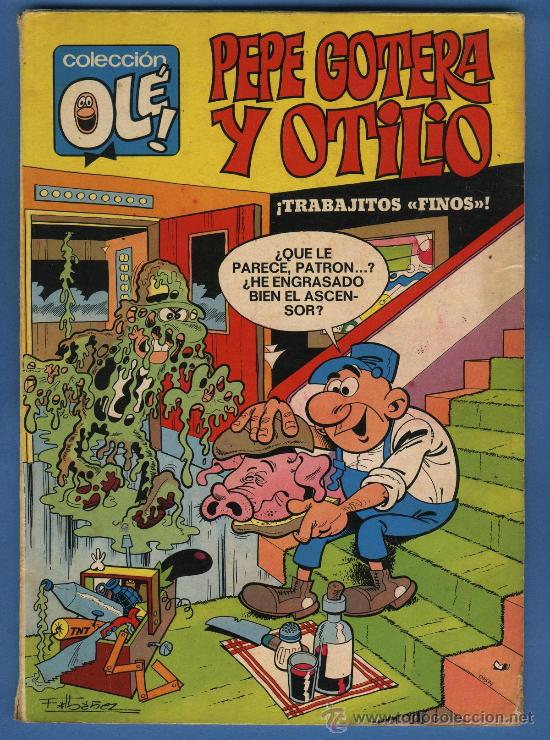 PEPE GOTERA Y OTILIO , COLECCIÓN OLE Nº 8 - 1ª EDICIÓN ( NÚMERO EN LOMO ) - BRUGUERA 1971 (Tebeos y Comics - Bruguera - Ole)