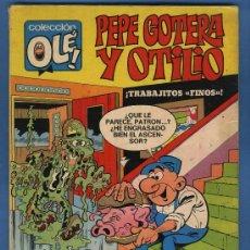 Tebeos: PEPE GOTERA Y OTILIO , COLECCIÓN OLE Nº 8 - 1ª EDICIÓN ( NÚMERO EN LOMO ) - BRUGUERA 1971. Lote 28539891