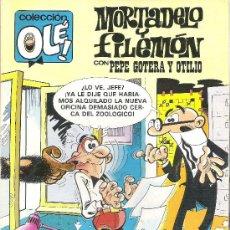 Tebeos: 1 COMIC - AÑO 1992 - MORTADELO Y FILEMON CON PEPE GOTERA Y OTILIO - OLE - Nº 243 - M. 165 - . Lote 28582695