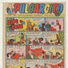 BDs: PULGARCITO Nº 1296. BRUGUERA 1952. CON INSPECTOR DAN.. Lote 28654951