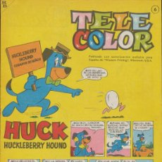 Tebeos: TELE COLOR Nº 6.. Lote 28715054