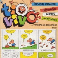 Tebeos: TIO VIVO SEMANAL Nº 22. EDITORIAL BRUGUERA. 3ª EPOCA.. Lote 28719570
