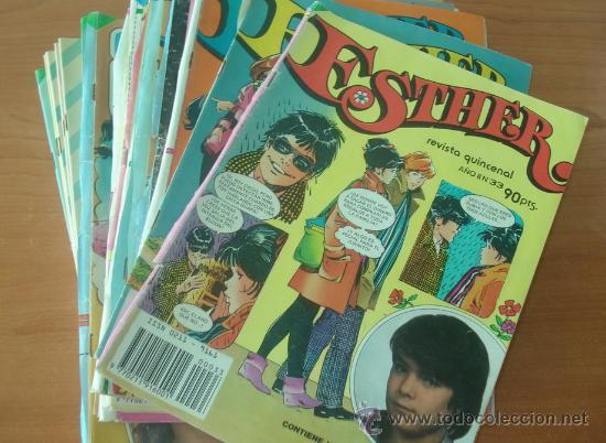 LOTE DE 39 COMICS DE ESTHER. EDITORIAL BRUGUERA. (Tebeos y Comics - Bruguera - Esther)
