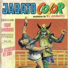 Tebeos: JABATO COLOR Nº 41. LA ESTATUA DE ORO. LITERACOMIC.. Lote 28732651