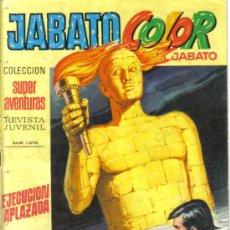 Tebeos: JABATO COLOR Nº 48. EJECUCION APLAZADA. LITERACOMIC.. Lote 28748473
