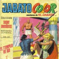 Tebeos: JABATO COLOR Nº 61. EL TEMPLO DE RA. LITERACOMIC.. Lote 28748668