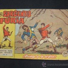 Tebeos: EL SARGENTO FURIA - Nº 8 - PUÑOS A LA ORDEN - EDIT. BRUGUERA - . Lote 28757852