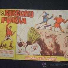Tebeos: EL SARGENTO FURIA - Nº 20 - LUCHA EN LA NIEVE - EDIT. BRUGUERA - . Lote 28757931