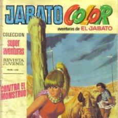 Tebeos: JABATO COLOR Nº 15. CONTRA EL MONSTRUO. LITERACOMIC. Lote 28760047