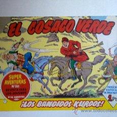Tebeos: EL COSACO VERDE , Nº 1 , LOS BANDIDOS KURDOS, 1960 . Lote 28769925
