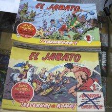 Tebeos: EL JABATO / LOTE DE 183 NUMEROS / REEDICION / EDICIONES B / SE VENDEN SUELTOS. Lote 28772636