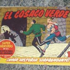 BDs: EL COSACO VERDE Nº 125. BRUGUERA 1960.. Lote 28814136