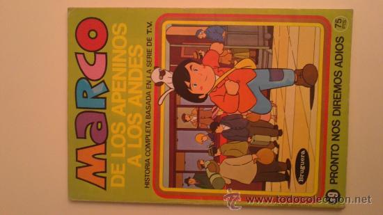 MARCO DE LOS APENINOS A LOS ANDES.Nº3(MI AMIGO EMILIO) ..BRUGUERA.1976 (Tebeos y Comics - Bruguera - Otros)