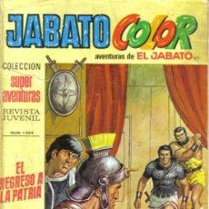 Tebeos: JABATO COLOR Nº 122. EL REGRESO A LA PATRIA. LITERACOMIC.. Lote 28890709