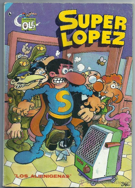 SUPER LOPEZ Nº 4 ,1986 (Tebeos y Comics - Bruguera - Ole)