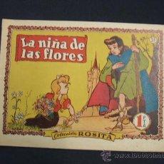 Tebeos: COLECCION ROSITA - Nº 37 - LA NIÑA DE LAS FLORES - GRAFICAS BRUGUERA - . Lote 28942376