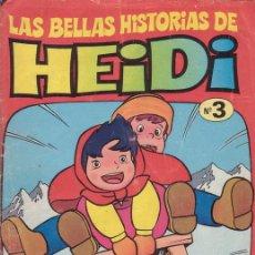 Tebeos: LAS BELLAS HISTORIAS DE HEIDI. ACCIDENTE. Nº 3. EDITORIAL BRUGUERA.. Lote 28994288