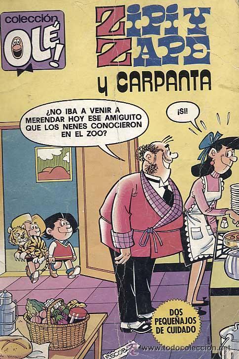L. COLECCIÓN OLE ZIPI Y ZAPE Nº200 (Tebeos y Comics - Bruguera - Ole)
