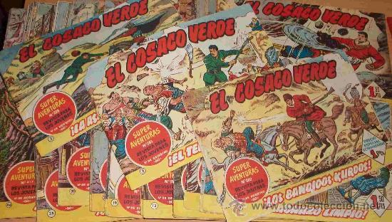EL COSACO VERDE (BRUGUERA) 144 EJ. (COMPLETA) (ORIGINAL) (Tebeos y Comics - Bruguera - Cosaco Verde)