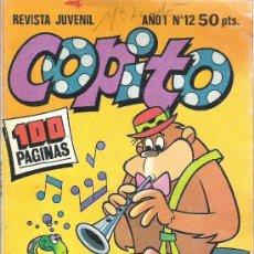 Livros de Banda Desenhada: 1 COMIC O REVISTA JUVENIL AÑO 1980 - Nº 12 - COPITO - ( CON GORILA MAGUILA - PICAPIEDRAS - OSO YOGUI. Lote 66644886