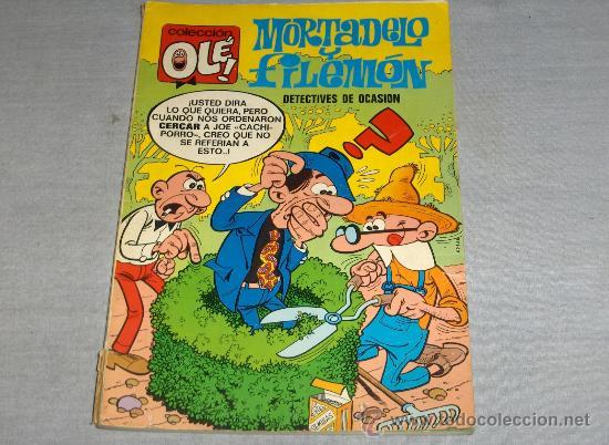 OLÉ Nº 11 MORTADELO. BRUGUERA 1ª EDICIÓN CON Nº EN LOMO. 1971. 40 PTS. . (Tebeos y Comics - Bruguera - Ole)