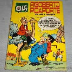 Tebeos: OLÉ Nº 34 RIGOBERTO PICAPORTE. BRUGUERA 1ª ED CON Nº EN LOMO. 1971 40 PTS. Y MUY DIFÍCIL. Lote 29011688