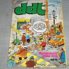Tebeos: DDT ALMANAQUE 1976 CON LUCKY LUKE. BRUGUERA 40 PTS. DIFÍCIL!!!!!!. Lote 29012886