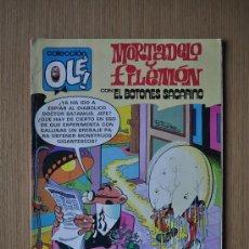 Tebeos: MORTADELO Y FILEMON CON EL BOTONES SACARINO Nº 232 ED. BRUGUERA. Lote 29081373