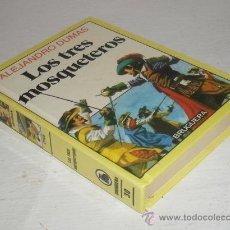 Tebeos: HISTORIAS INFANTIL Nº 30 BRUGUERA LOS TRES MOSQUETEROS ALEJANDRO DUMAS 1986. Lote 29048148