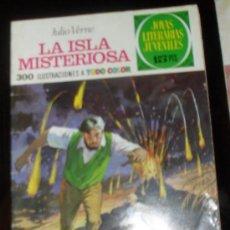Tebeos: JOYAS LITERARIAS JUVENILES Nº 13 BRUGUERA 1970 LA ISLA MISTERIOSA JULIO VERNE. Lote 29048749
