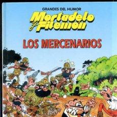 Tebeos: GRANDES DEL HUMOR Nº10 TAPA DURA : MORTADELO Y FILEMÓN, LOS MERCENARIOS. Lote 29164471