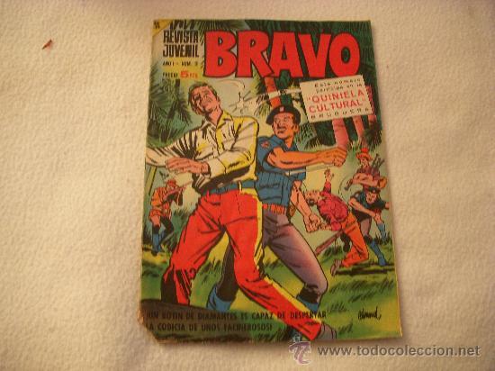 REVISTA JUVENIL BRAVO Nº 2, EDITORIAL BRUGUERA (Tebeos y Comics - Bruguera - Bravo)