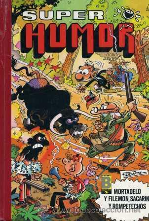 SUPER HUMOR Nº33 (MORTADELO Y FILEMÓN, SACARINO Y ROMPETECHOS) EDICIONES B,1989 (Tebeos y Comics - Bruguera - Super Humor)