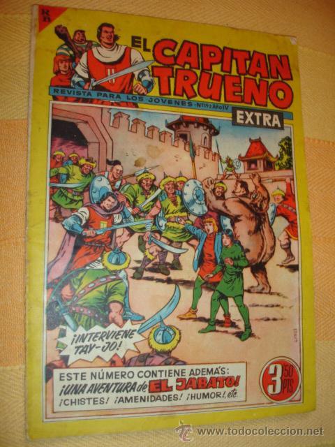 CAPITAN TRUENO EXTRA Nº 192 AÑO IV . BRUGUERA 1963 . (Tebeos y Comics - Bruguera - Capitán Trueno)