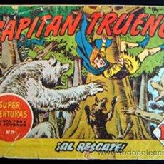 Tebeos: EL CAPITAN TRUENO... ORIGINAL NO. 63... AÑO 1958.. Lote 29238663