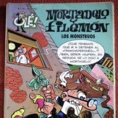 Tebeos: MORTADELO Y FILEMÓN-LOS MONSTRUOS-Nº70;BRUGUERA 1999. Lote 29358990