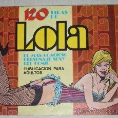 Tebeos: 120 TIRAS DE LOLA Nº 8, POR IÑIGO (1976) . Lote 29391850