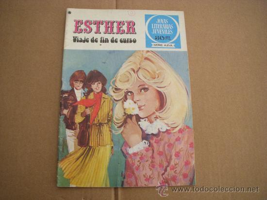 JOYAS LITERARIAS JUVENILES SERIE AZUL Nº 20, CON ESTHER, EDITORIAL BRUGUERA (Tebeos y Comics - Bruguera - Esther)