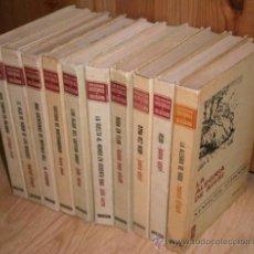 Tebeos: LOTE DE 10 LIBROS DE LA COLECCIÓN HISTORIAS SELECCIÓN DE BRUGUERA, NOVELAS EDITADAS EN BARCELONA. Lote 29624535