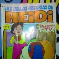 Tebeos: ANTIGUO TEBEO DE HEIDI CON PASATIEMPOS SIN USAR AÑO 1987 TAURUS FILM. Lote 29629451