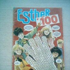 Tebeos: ESTHER Nº 100 / BRUGUERA 1985 REPORTAJES TRINI TINTURE, PURITA CAMPOS, POSTER ESTHER.. Lote 175263764