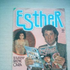 Tebeos: ESTHER Nº 68 / BRUGUERA 1984 POSTER IRENE CARA. Lote 29720060
