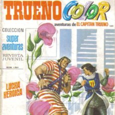 Tebeos: TRUENO COLOR Nº 189. LUCHA HEROICA.. Lote 29691772