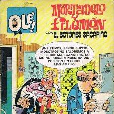 Tebeos: MORTADELO Y FILEMON CON EL BOTONES SACARINO. TROMPAZOS A GOGO. COLECCION OLE NUMERO 249. Lote 29739766