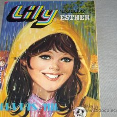 Tebeos: LILY ESPECIAL ESTHER Nº 12 LLUVIAS MIL. BRUGUERA 1979. 75 PTS. POSTER CAMILO SESTO. .. Lote 29742359