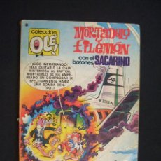 Tebeos: COLECCION OLE - MORTADELO Y FILEMON CON EL BOTONES SACARINO - 1ª EDICION 1978 - BRUGUERA - . Lote 29761522