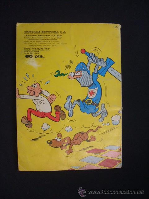 Tebeos: COLECCION OLE - MORTADELO Y FILEMON CON EL BOTONES SACARINO - 1ª EDICION 1978 - BRUGUERA - - Foto 9 - 29761522